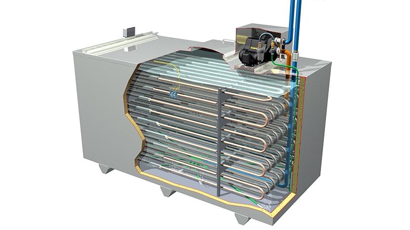 کاهش هزینه مصرف انرژی مزایای استفاده از Ice Bank
