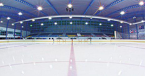 پاتیناژ - ساخت سالن پیست اسکیت روی یخ - سالن پاتیناژ