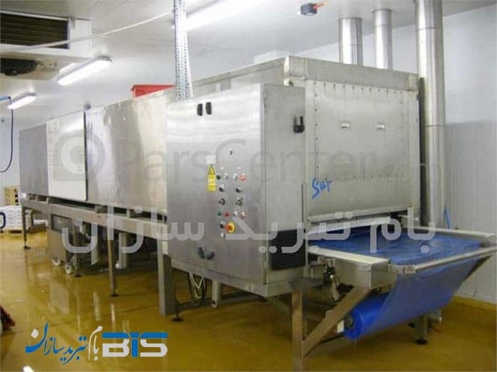 ساخت تونل انجماد سریع (Individual Quick Freezer) و یا IQF