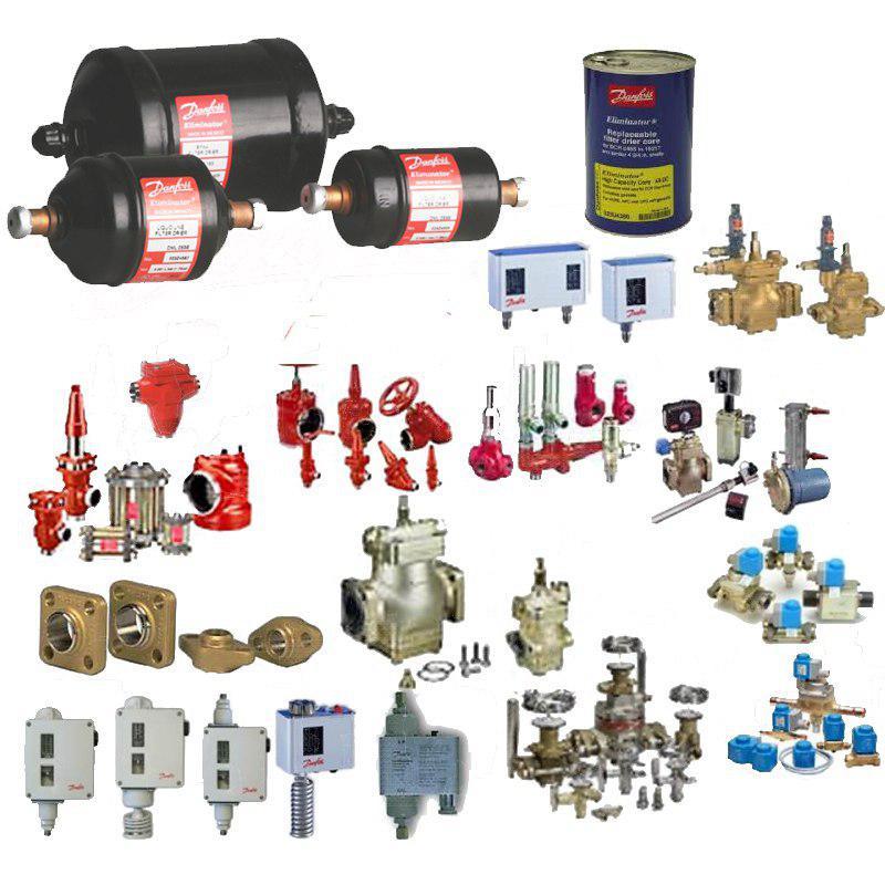 شیر آلات و کنترل آلات سیستم تبرید - بررسی انواع شیر و ولو صنعتی